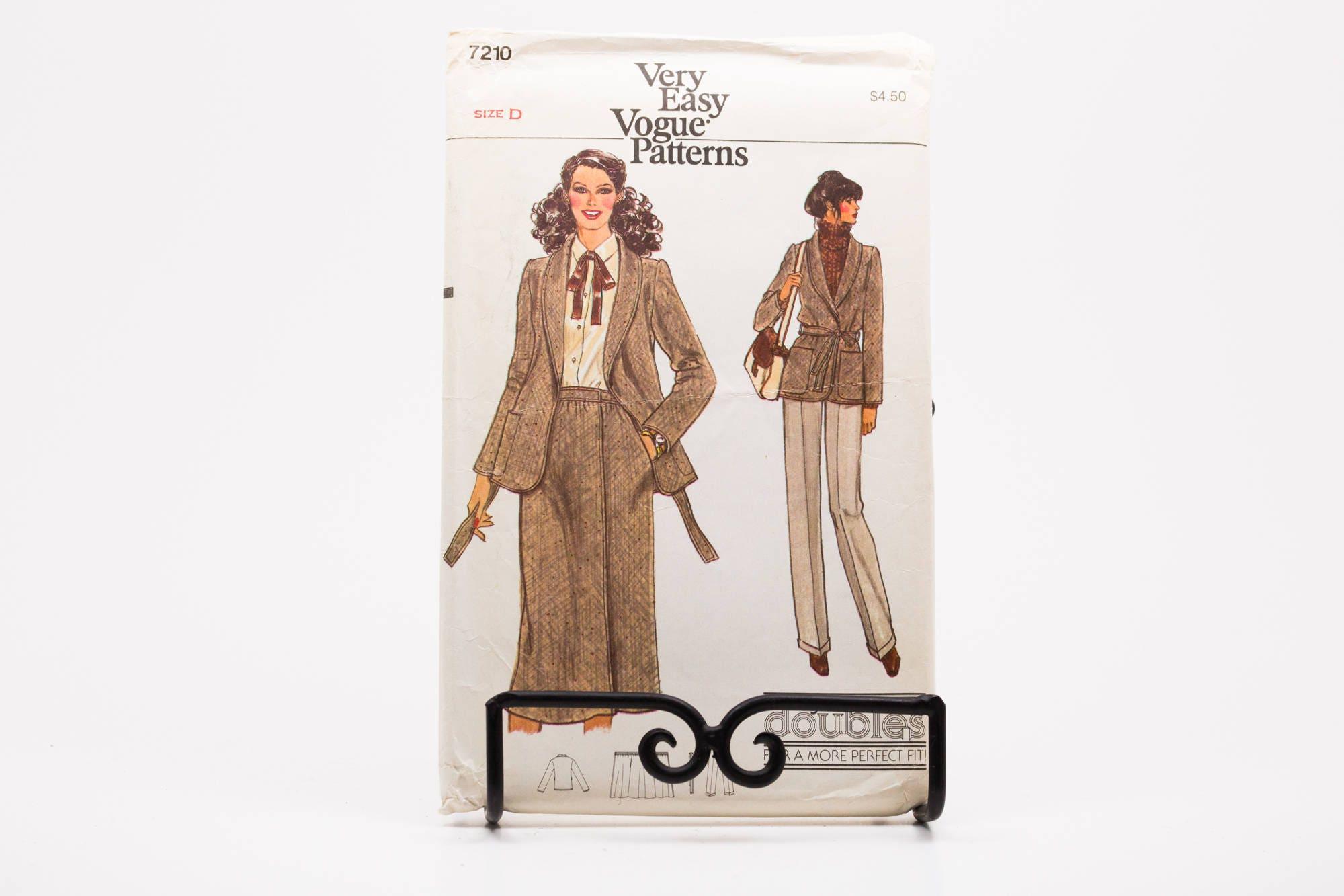 Vintage Vogue Sommer Kleid Rock Freizeithosen Hemd Pullover