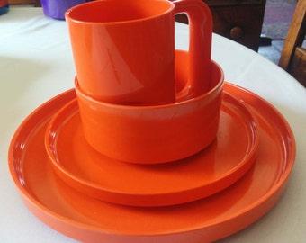 Heller Plasticware Orange