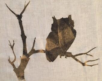 Owl Screen Tea Towel - Set of 3