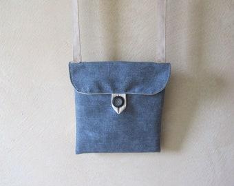 Made of fabric shoulder bag