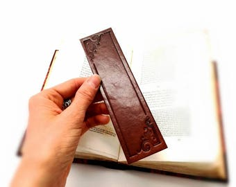 Luxury Leather Bookmark - the perfect gift