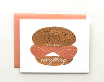 You're My Everything - Love Card, Anniversary Card, Friendship Card