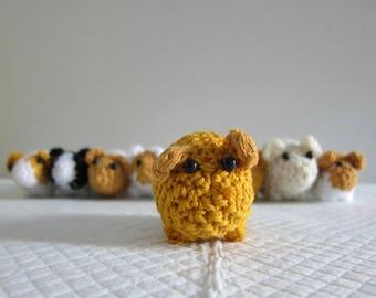 Crochet amigurumi guinea pig