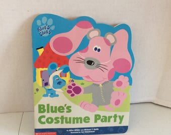 Blues Costume Party book, Blues Clues Softcover Book , Blue's Clues Book