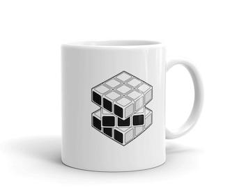 Rubik's Cube Coffee Mug