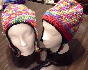 Colorful Earflap Hats