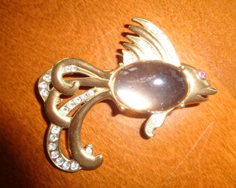 Vintage Jelly Belly Fish Pin 1990's