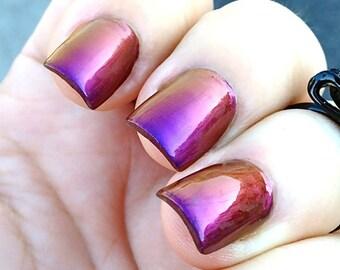 Mega Multichrome (Vixen)  Multi-Color Shifting Polish:  Custom-Blended Glitter Nail Polish / Indie Lacquer / Polish Me Silly