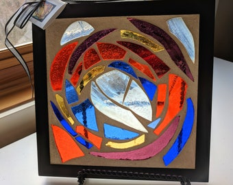 Contemporary Stained Glass Mosaic