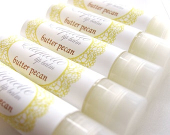 Butter Pecan Lip Balm Moisturizing lip butter lip gloss sweetened lip balm