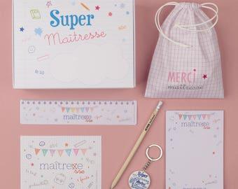 Teacher - BOX ready for gift giving!