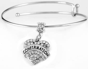 Confirmation bracelet  Special Confirmation Jewelry  Low Cost Confirmation gift  communion gift  first communion