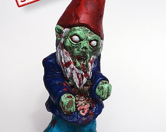 New Walking Dead Zombie Gnome