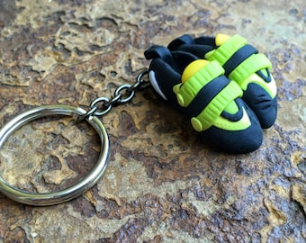 Rock Climbing Keychain Personalized Gift for Climbers Custom Climbing Shoes