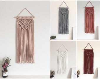 Long Layered Macrame wall hanging various colours