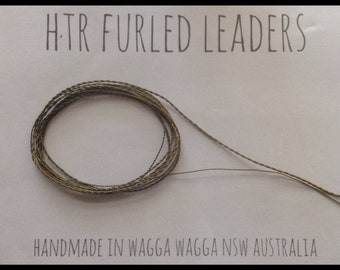 HTR Furled 9 foot Tapered Leader (fly fishing)