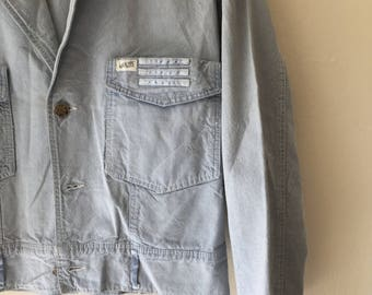 Vintage Guess Baby Blue Jacket