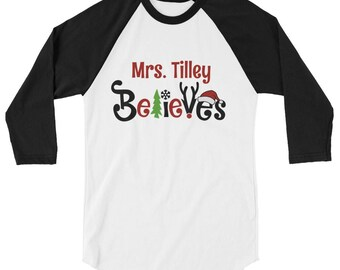 believe in santa holiday teacher shirt believe shirt i believe christmas shirt