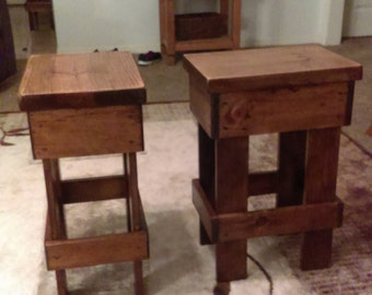 Little Rustic Tables