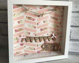 Personalised Photo Frame | Hanging Photo's | Birthday Gift | Personalised Gift | Graduation | Friends | Mum | Nan | Memories