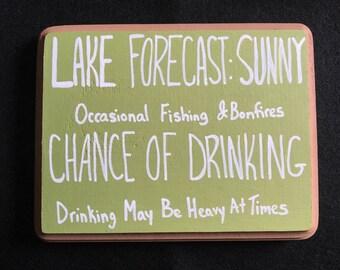 Funny Lake Forecast