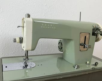 Kenmore Sewing Machine / Sears Kenmore Sewing Machine / Vintage Sewing Machine / Domestic Sewing Machine / Antique Sewing Machine /