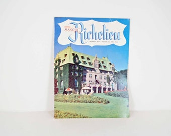 Manor Richelieu 1960s brochure - Murray Bay - Pointe-Au-Pic