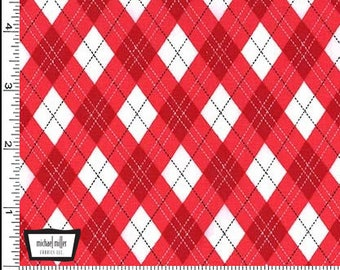 Red Gift Wrap Cotton Fabric from Michael Miller Fabrics