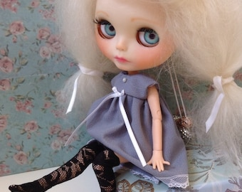 Thigh High Stockings / black / lace / Blythe
