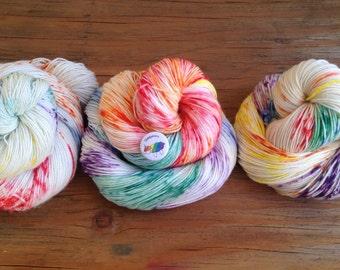 Sheepicorn - Hand Dyed Yarn