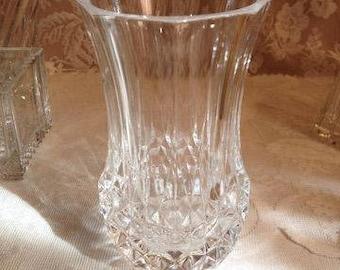 Crislal 'd Argues Longchamps Crystal Vase