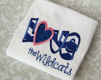 Love the University of Kentucky Wildcats shirt - Football - Cats - Basketball- Chevron