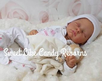 Custom made to order Andi reborn doll by Linda Murray reborn baby boy or girl doll