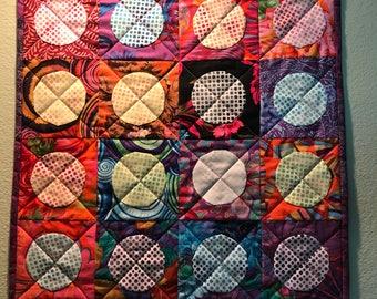 Colorful Circle Wall Hanging