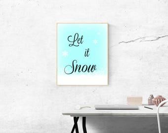 Let it Snow Artwork