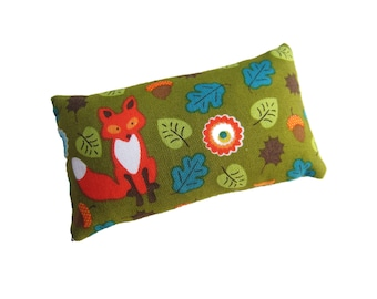 Fox in Forest Sewing Pincushion filled with Emery Sand