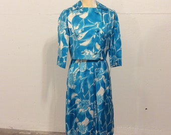 1960's Jackie Kennedy Style Suit-dress