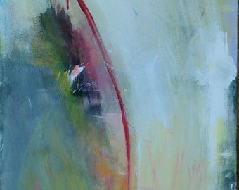 Reserved Diana - VULNERABLE - Original Abstract Acryllic painting on canvas