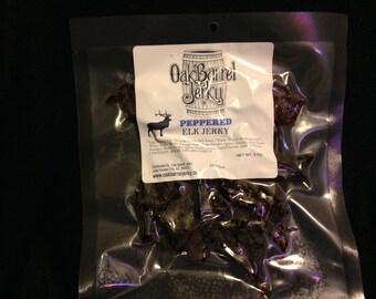 Peppered Elk Jerky