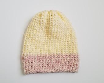 Prêt à l'expédition / / pavot bonnet / / bonnet de printemps / / Tuque beanie / / bonnet d'été / / Bonnet en tricot