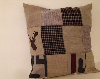 British style patchwork Cushion cover