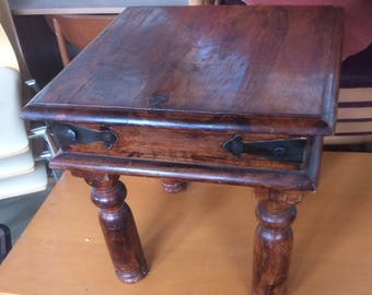 Spanish style small coffee table
