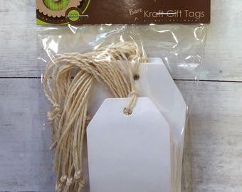 Luggage Label White Kraft Card Gift Tags
