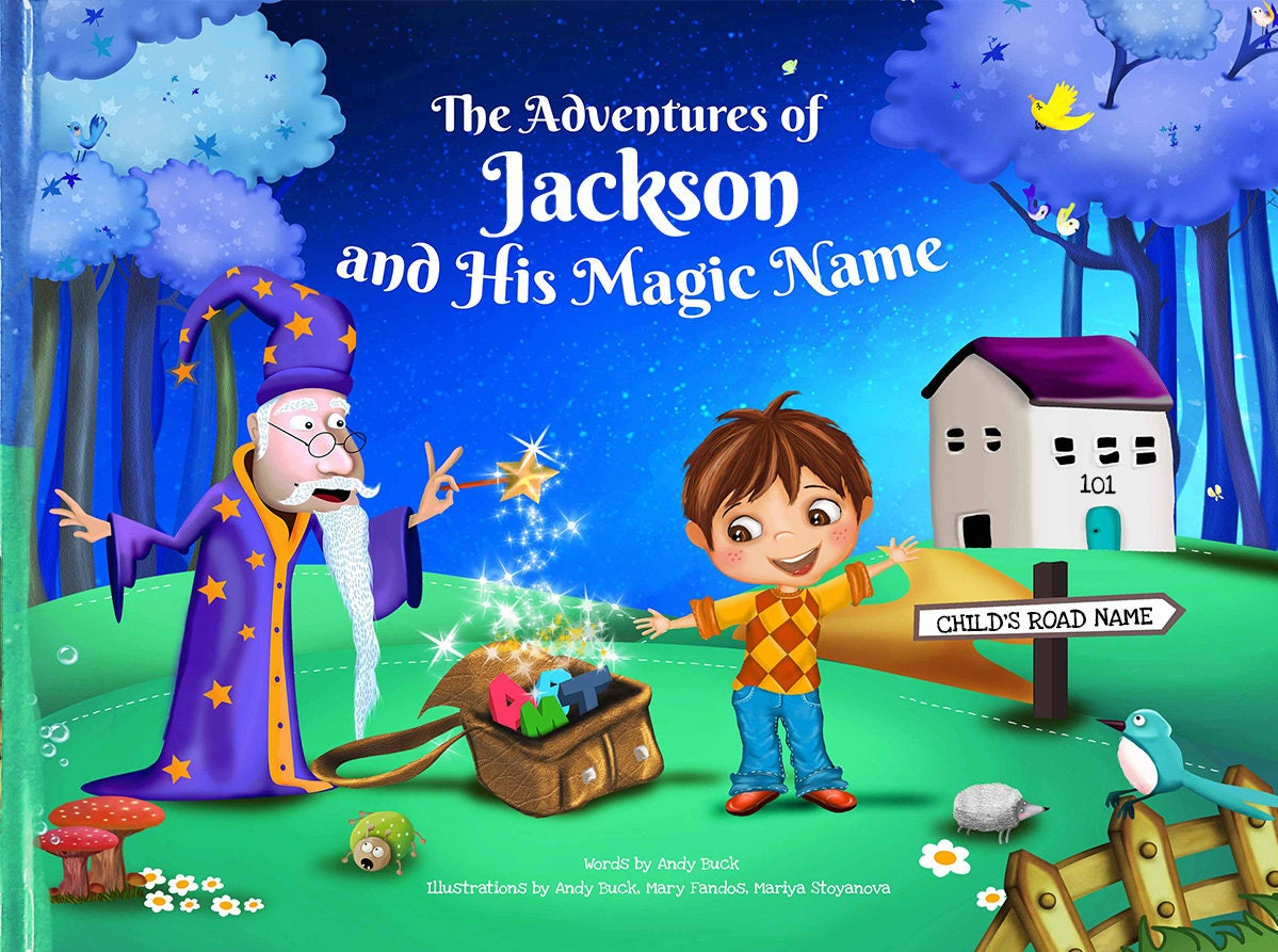 children s book with personalisation gift for kids