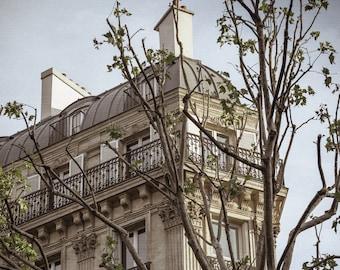 Paris Apartment Photo - Paris Balcony - Paris Photography - Paris Apartments - France, Vintage, White
