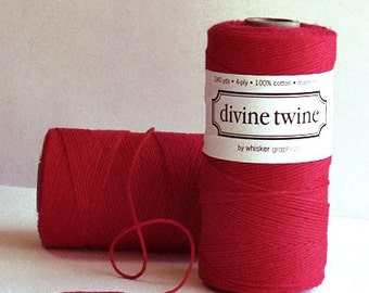 SALE! Red Solid Divine Twine™ from Whisker Graphics