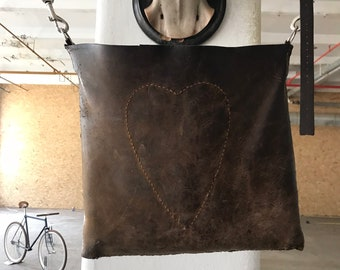 leather bag, simple but awesome