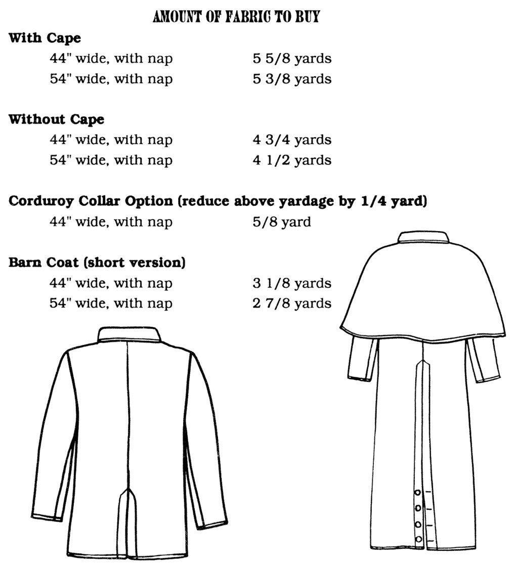 Buckaroo bobbins range coat duster barn coat sewing pattern 1595 jeuxipadfo Images