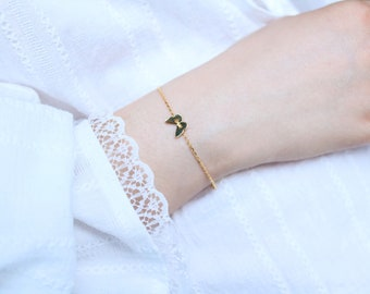 Butterfly Bracelet - Sterling silver Butterfly Bracelet - Gold and Silver Butterfly Jewelry - Delicate Bracelet - Friendship, Birthday gift