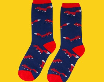 FREE SHIPPING Fox socks